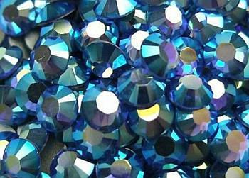 """Стразы для ногтей """"Sapphire"""" AB (36) - SSmix 100шт"""