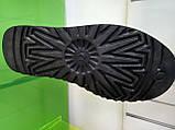 Мужские Угги UGG Australia Classic Mini Black Original Leather, фото 4