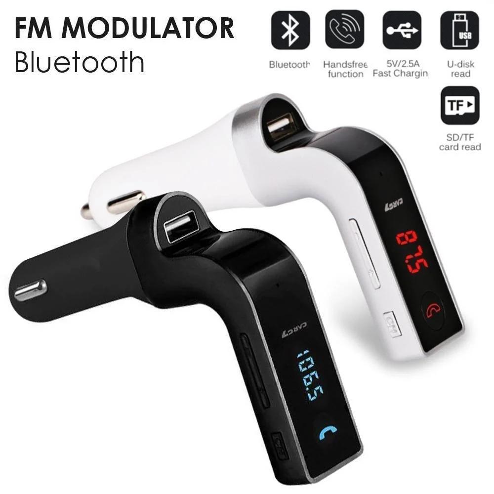 FM-модулятор S18 с Bluetooth и пультом управления, модулятор автомобильный. трансмиттер fm