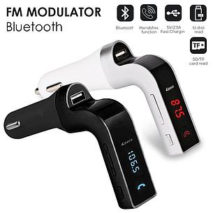 FM-модулятор S18 с Bluetooth и пультом управления, модулятор автомобильный. трансмиттер fm, фото 2