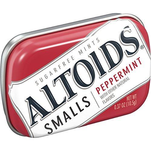 Мятные конфеты Altoids Peppermint Smalls 10,5 g