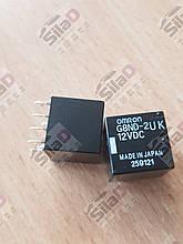 Реле G8ND-2UK 12VDC Omron корпус DIP8