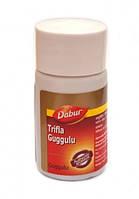 Трифала гугул — очищающий скребок организма, Triphala guggulu (40tab)