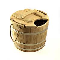 Запарник для веников дубовый 15 литров, фото 1