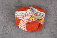 Шерстяные носки детские для самых маленьких, зимние детские носочки, 9-12 см