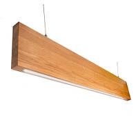 Линейный LED светильник Vela Ramita в деревянном корпусе  (30вт, 110 см)
