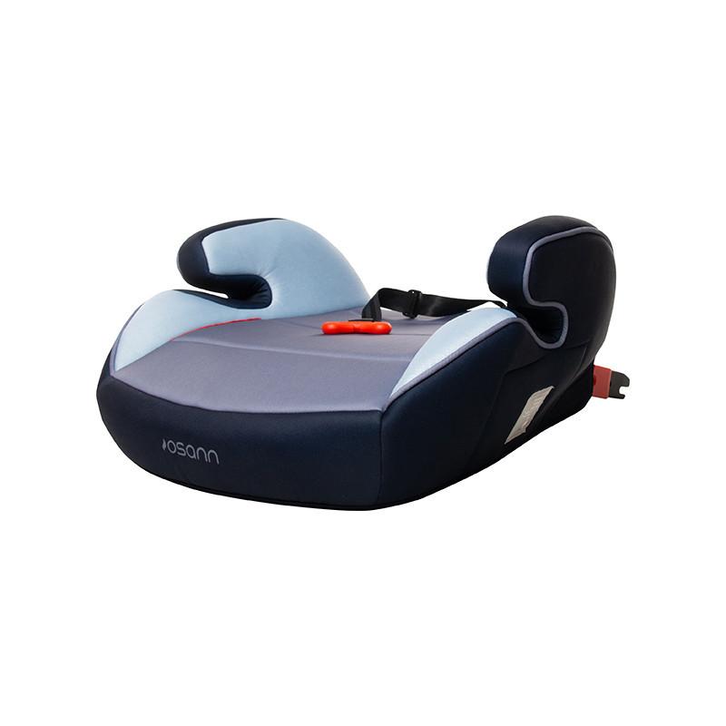 Детское сиденье - бустер Junior Isofix z Gurtfix - Pixel Navy Osann 104-150-272 (от 3 до 12 лет / 15-36 кг.)