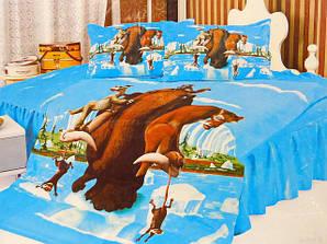 Комплекты детского постельного белья ТМ ELWAY (Польша) 3D Сатин