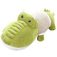 Мягкая детская игрушка - подушка Крокодил Гена, 95 см