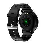 Смарт-годинник вологостійкі AZhuo Digital Smartwatch K9 IP68 Black/Yellow (B6091219), фото 2