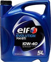 ELF EVOLUTION 700 10W-40 5L полусинтетическое моторное масло