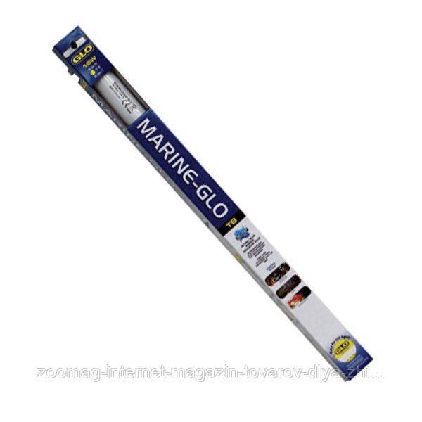 """Лампа для аквариума преобладает синим светом """"Marine-Glo"""" (20W-59 см) Hagen™"""