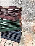 "Деревянный ящик ""Gom""-blue / Хранение / Органайзер / Фото фон / Декор для магазина / Фото декор / Кашпо, фото 6"
