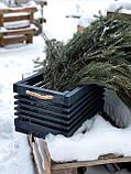 "Деревянный ящик ""Gom""-blue / Хранение / Органайзер / Фото фон / Декор для магазина / Фото декор / Кашпо, фото 5"