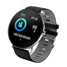 Смарт-часы влагостойкие AZhuo Digital Smartwatch K9 IP68 Black/Grey (B4091219)