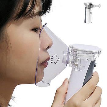 Ультразвуковой портативный ингалятор небулайзер Boxym N2 ручной компактный распылитель медицинский