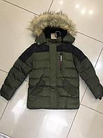 Зимняя куртка детская, подросток с капюшоном (Венгрия)