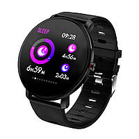 Стильные смарт часы влагостойкие AZhuo Digital Smartwatch K9 IP68 Black ( фитнес браслет) (B3091219)