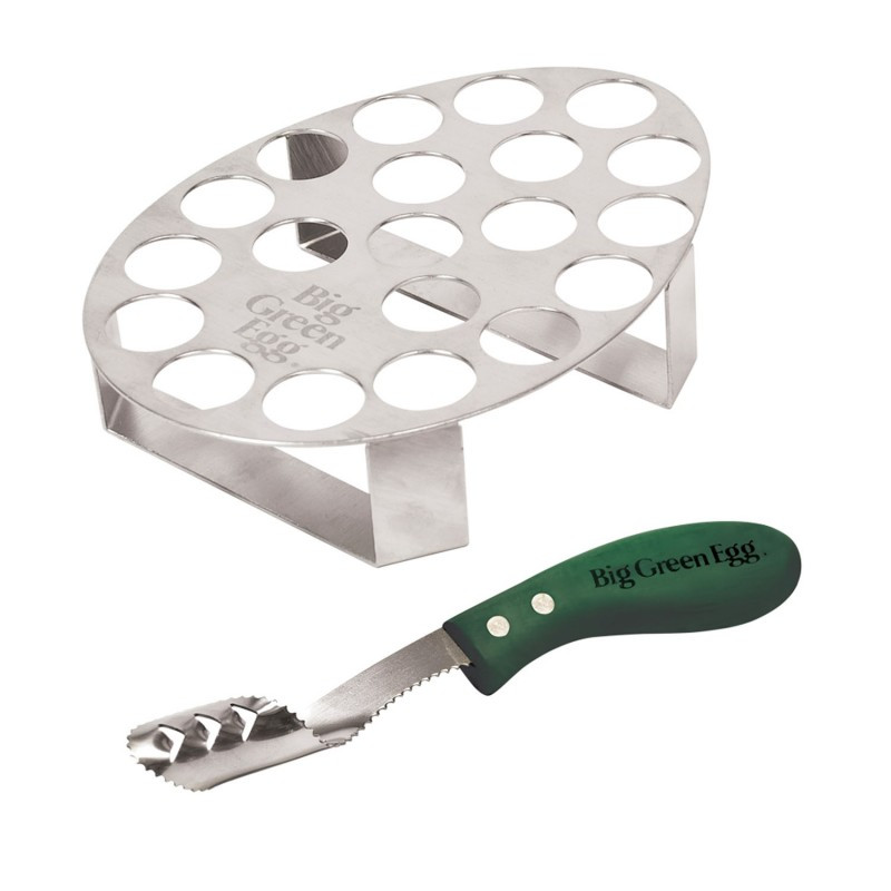 Подставка для 20 фаршированых перчиков с ножом