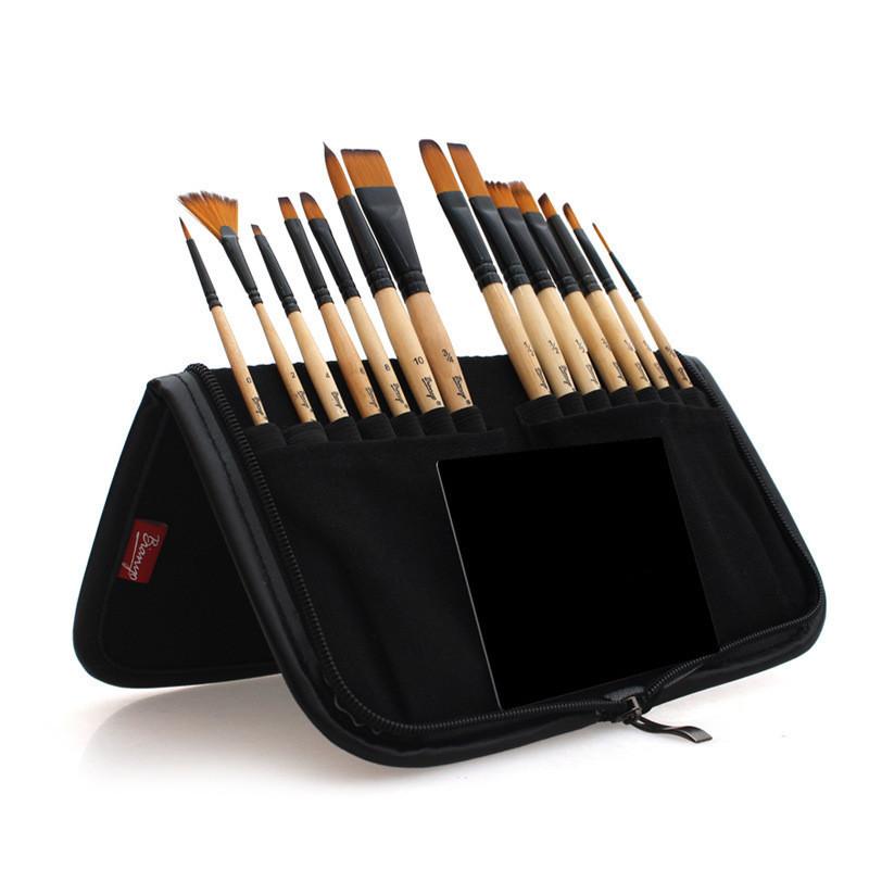 Набор профессиональных кистей Artist Brush в пенале (холдере) 14 шт (B2091220)