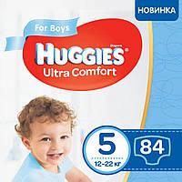 Подгузник Huggies Ultra Comfort 5 Box для мальчиков (12-22 кг) 84 шт (5029053547855), фото 1