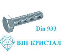 Болт DIN 933 A2 М6х60 /  Гвинт DIN 933 A2 М6х60