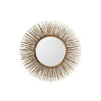 Настенное зеркало Miina 130 в раме цвета золота