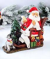 Статуэтка День Мороз 919-283. Новогодний декор