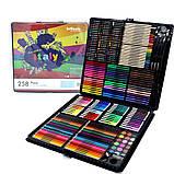 Художественный детский набор для рисования и творчества ColorfulItaly на 258 предметов, фото 4