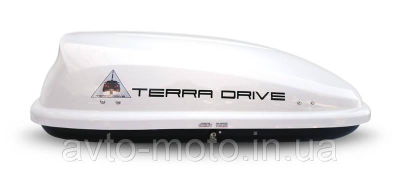 Автомобильный багажник Terra Drive 320 (Аэробокс глянец)