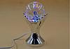 Обертова диско лампа Crownberg CB-0303 нічник, світильник Gold, фото 4