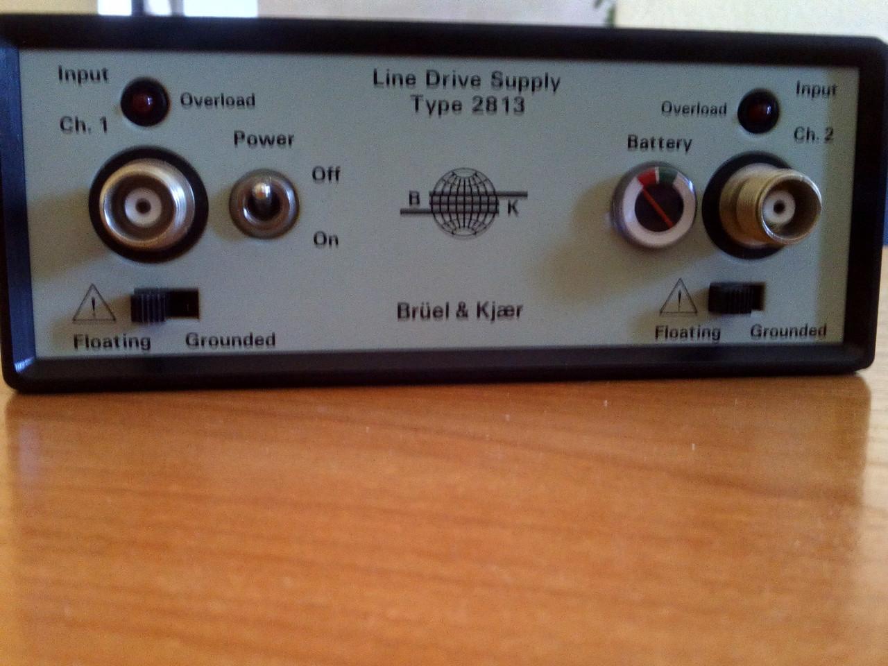 Линейный привод - Bruel & Kjaer  тип 2813
