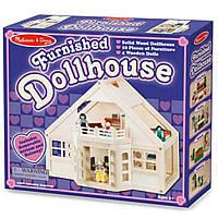 Игровой набор Melissa&Doug Меблированный Деревянный Домик (MD795)