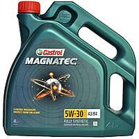 Моторное  масло синтетическое Castrol Magnatec 5W-30 A3 B4 4L