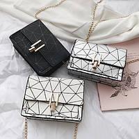 Модная женская мини сумочка клатч