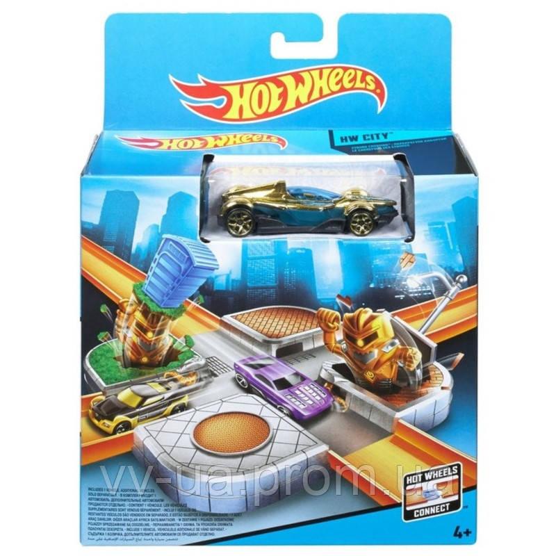 Игровой набор Hot Wheels Приключения в большом городе в ассортименте (2) (CDM44)