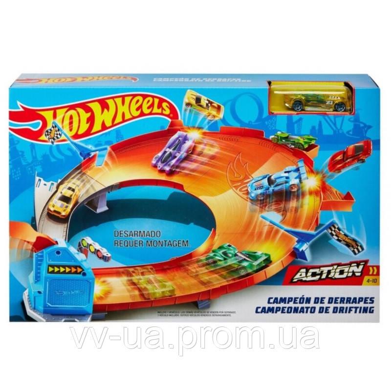 Трек Hot Wheels Соревнование за кубок Чемпиона (в ассортименте) (GBF81)