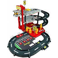 Игровой набор Bburago Гараж Ferrari (3 уровня, 2 машинки 1:43) (18-31204)