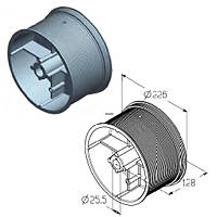 Барабан для намотування троса воріт Alutech гаражних і промислових секційних CD032N