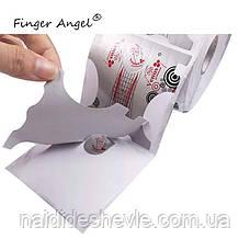 Формы для наращивания ногтей - рулон 300 шт. (7 *7 см.), фото 2