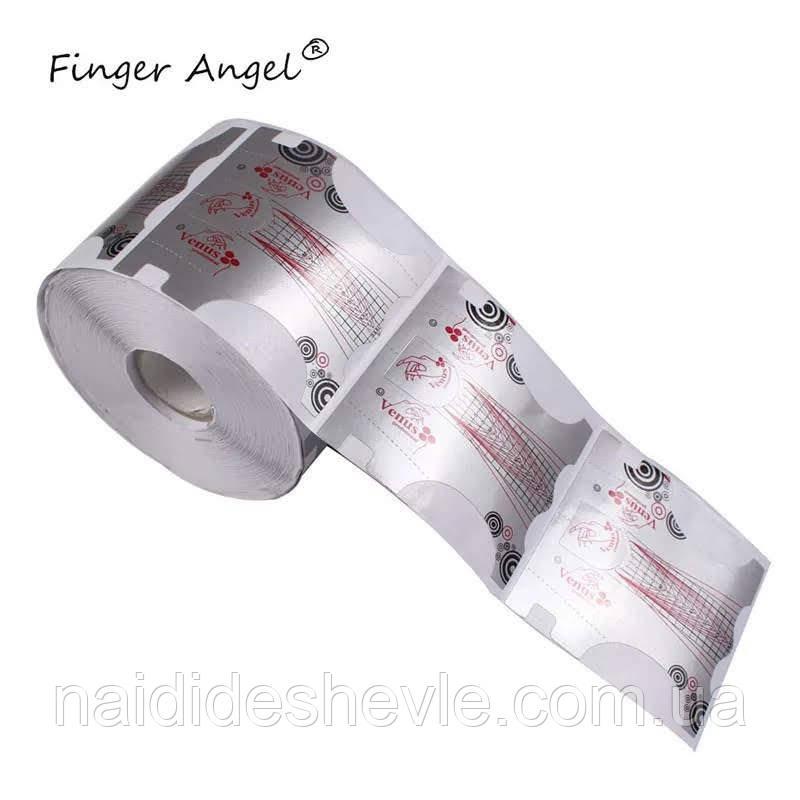 Формы для наращивания ногтей - рулон 300 шт. (7 *7 см.)