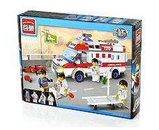 "Конструктор Brick 1118 ""Швидка допомога"" 328 деталей, фото 2"