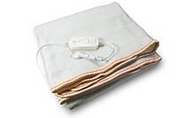 🔝Электроодеяло Electric Blanket (100 W, 150х155 см) Оранж, простынь с подогревом, электро одеяло | 🎁%🚚
