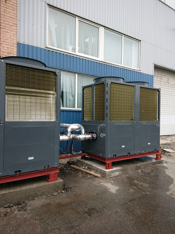 Тепловые насосы TEPLOMIR EVI176 (2шт) в г.Киев 1