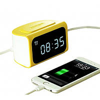 Настольные часы REMAX ZMart Alarm Clock RMC-05 Yellow