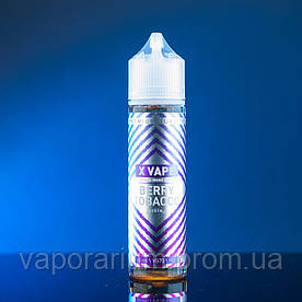 Жидкость для электронных сигарет X VAPE BERRY TOBACCO 60 мл