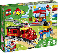 Конструктор Лего дупло поезд на паровой тяге 10874 LEGO DUPLO Steam Train