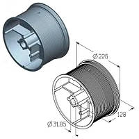 Барабан для намотування троса воріт Alutech гаражних і промислових секційних CD032N-5 / 4