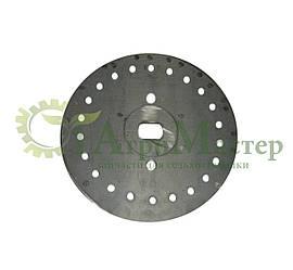 Диск высевающий 22 отверстия Ф 4 мм. сталь 65 г Н 126.14.425-04