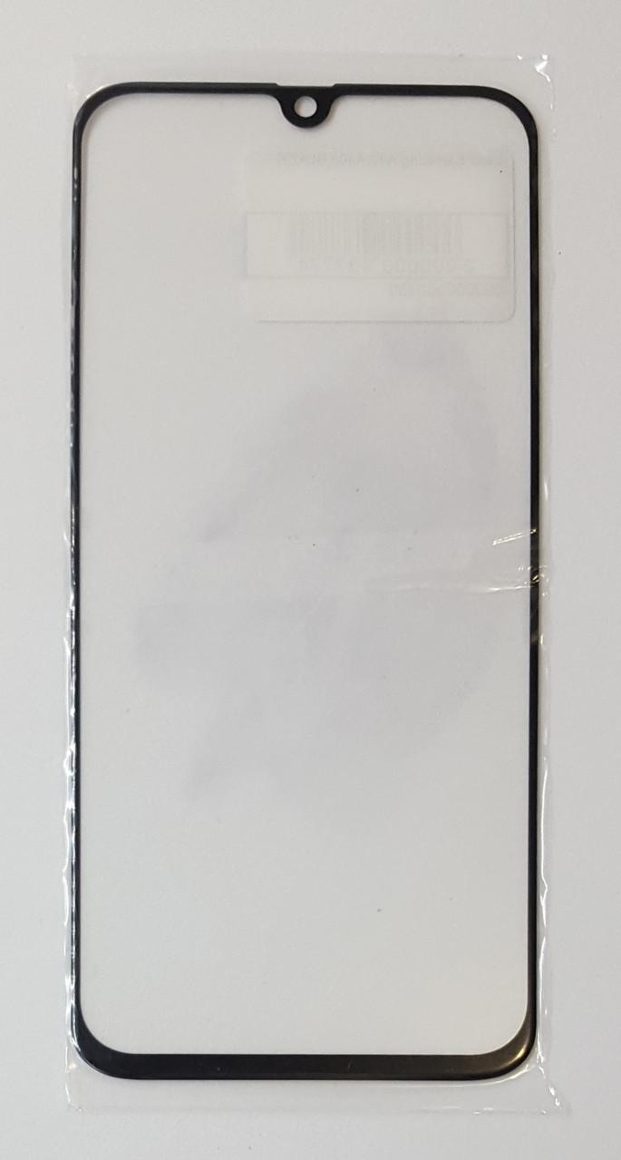 Стекло модуля для Samsung A40 A405 черное